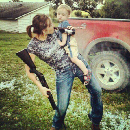 gun et gosse